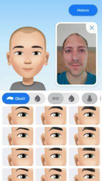 Facebook avatar vytvoreni nahled