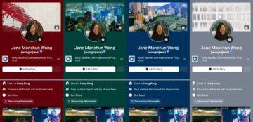 Facebook barevné profily podle úvodní fotky