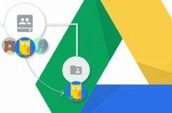 firemní Google Disk sdílení složek