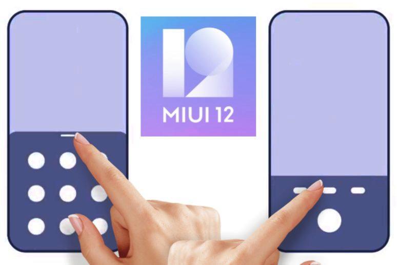 foto MIUI 12 nová gesta