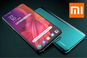 fotoaparát pod displejem Xiaomi patent render