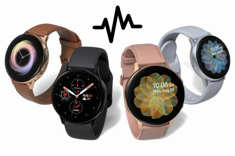 Galaxy Watch Active2 EKG