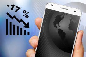 globální prodejnost telefonů Q1 2020