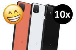 Google deset kusů Pixel 4