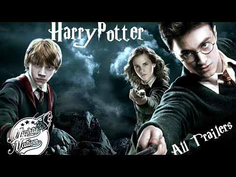 Harry Potter All Trailers Part(1-8) (2001-2011) By Mighty Nation