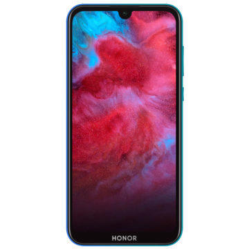Honor 8S 2020 Aurora Blue predni strana