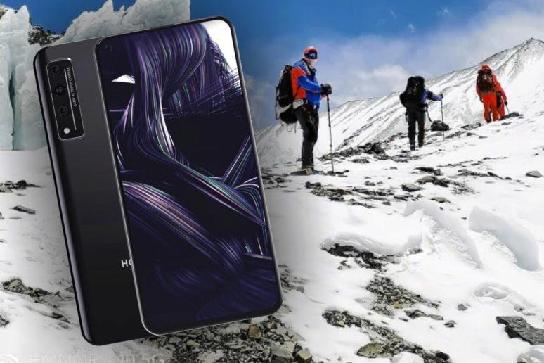 Honor X10 vyprava na Mount Everest