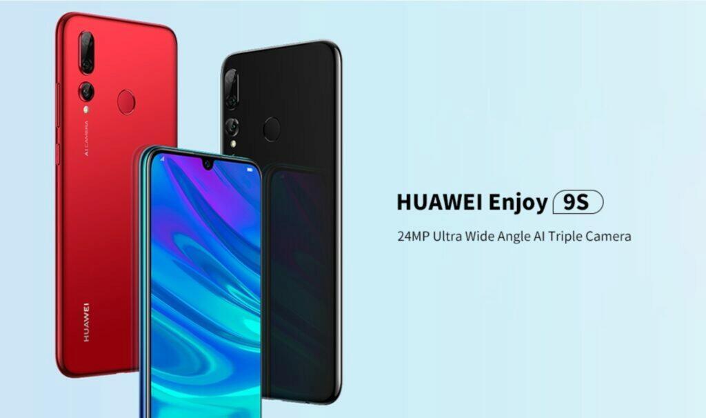 Huawei Enjoy 9S v akci