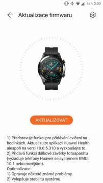 Huawei Watch GT 2 update kveten 2020 screen 2