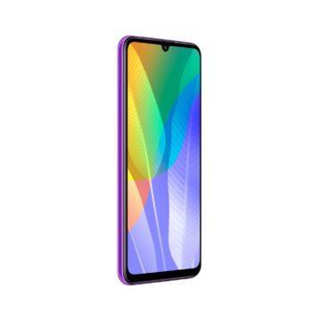 Huawei Y6p purple celo prava