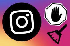 Instagram mazání připínání komentářů