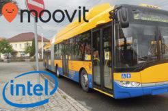 Intel dopravní aplikaci kupuje Moovit