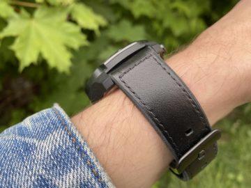 kožený pásek ticwatch pro
