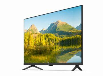 nová Xiaomi Full Screen TV Pro 32 sikmy bok