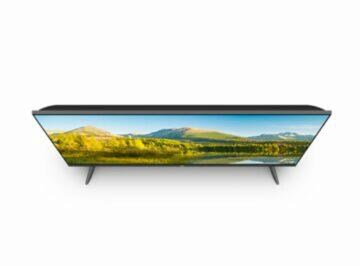 nová Xiaomi Full Screen TV Pro 32 sikmy vrch