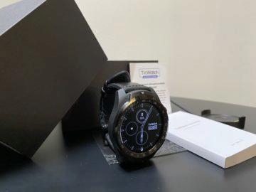 obsah balení chytré hodinky wear os