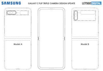 patent Samsung Galaxy Z Flip 2