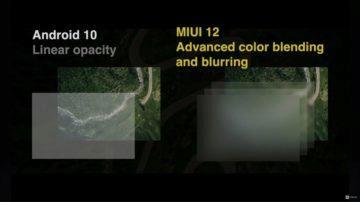 predstaveni MIUI 12 blurring