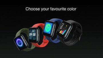 predstaveni Realme Watch barvy