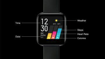 predstaveni Realme Watch informace na ciferniku