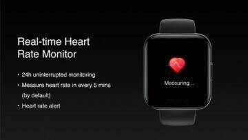 predstaveni Realme Watch mereni tepu
