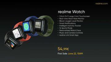 realme hodinky cena