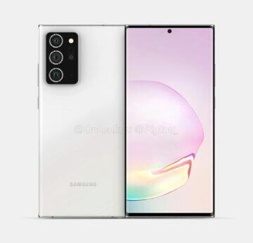 rendery Samsung Galaxy Note 20 Plus OnLeaks Pigtou 1