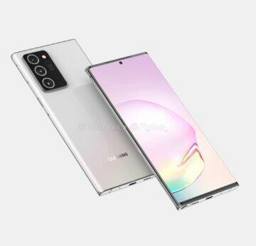 rendery Samsung Galaxy Note 20 Plus OnLeaks Pigtou 2
