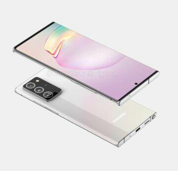 rendery Samsung Galaxy Note 20 Plus OnLeaks Pigtou 3