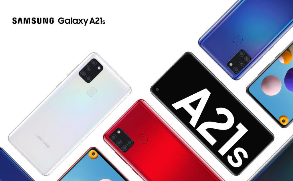Samsung Galaxy A21s lifestyle photo
