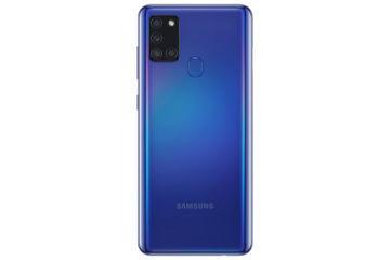 Samsung Galaxy A21s modra zada