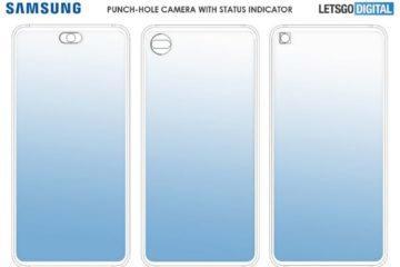 Samsung notifikace kolem průstřelu patent 1