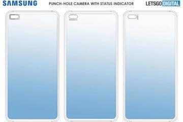 Samsung notifikace kolem průstřelu patent 2