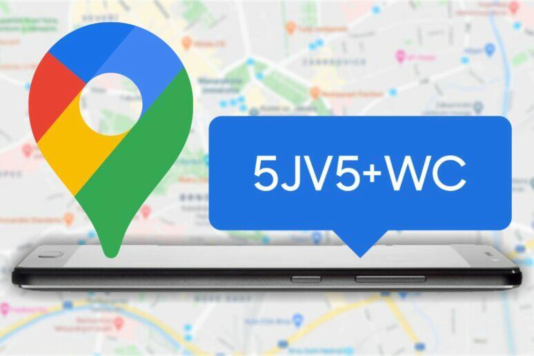 sdílení místa v Google Mapách pomoci plus kodu