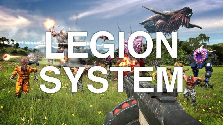 Serious Sam 4 - Legion System