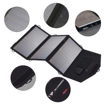solární 18W nabíječka Allpowers 2