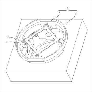 tekuté čočky huawei patent 1