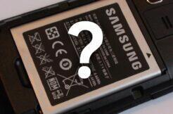 vyměnitelná baterie Samsung spekulace