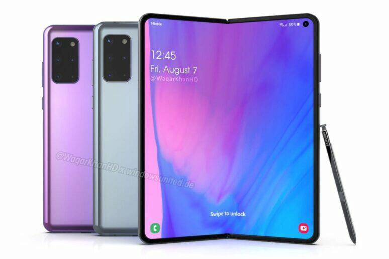 výroba Samsung Galaxy Fold 2