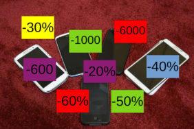 Výrobci telefonů nabízí slevy