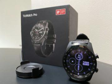 wear os ticwatch pro vs