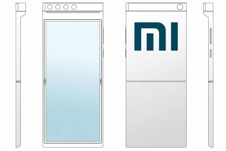 Xiaomi ohebný telefon s otočným foťákem
