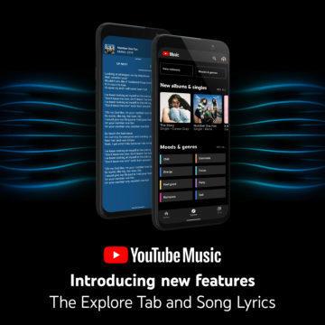 YouTube Music prozkoumat