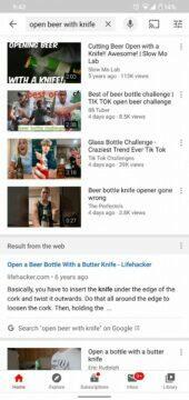 YouTube zobrazuje i Google vyhledávání 2