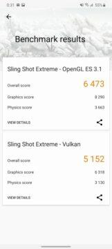 3DMark Slingshot Extreme výsledky