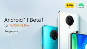 android 11 beta poco