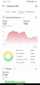 aplikace Huawei Health Zdraví detail sportovniho vykonu 3