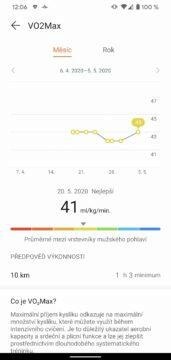 aplikace Huawei Health Zdraví okysliceni krve 1