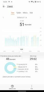 aplikace Huawei Health Zdraví zatez