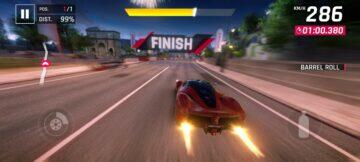 Asphalt 9 screen 3
